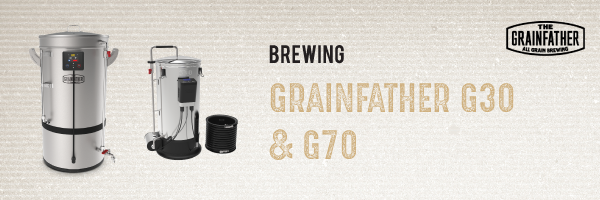 Brewing: Grainfather G70 and G30